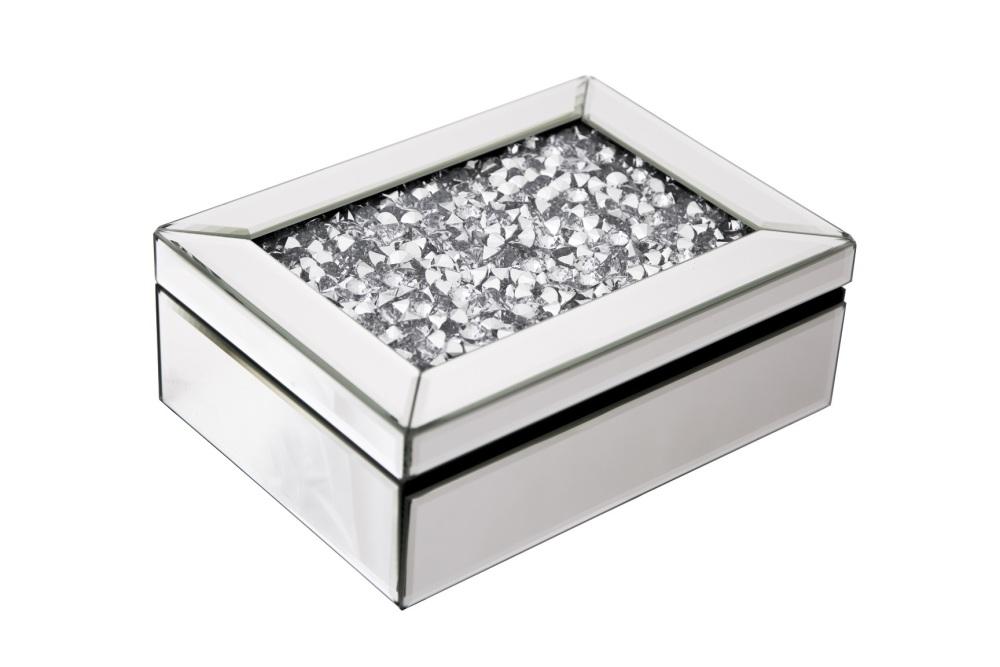Crush Sparkle Mirrored Jewel Box