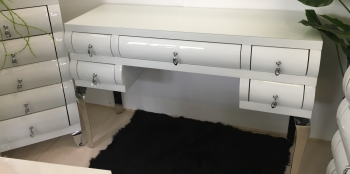 White Gloss Dressing Table