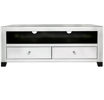 Diamond Crush Sparkle Mirrored TV Entertainment Unit - Free delivery