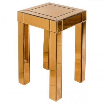 Bronze / Copper Lamp Side Table