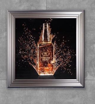 * Teanessee Whiskey Glitter Art **