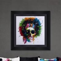 "Patrice Murciano Framed ""Woodstock Skull Punk"" print 87cm x 87cm"