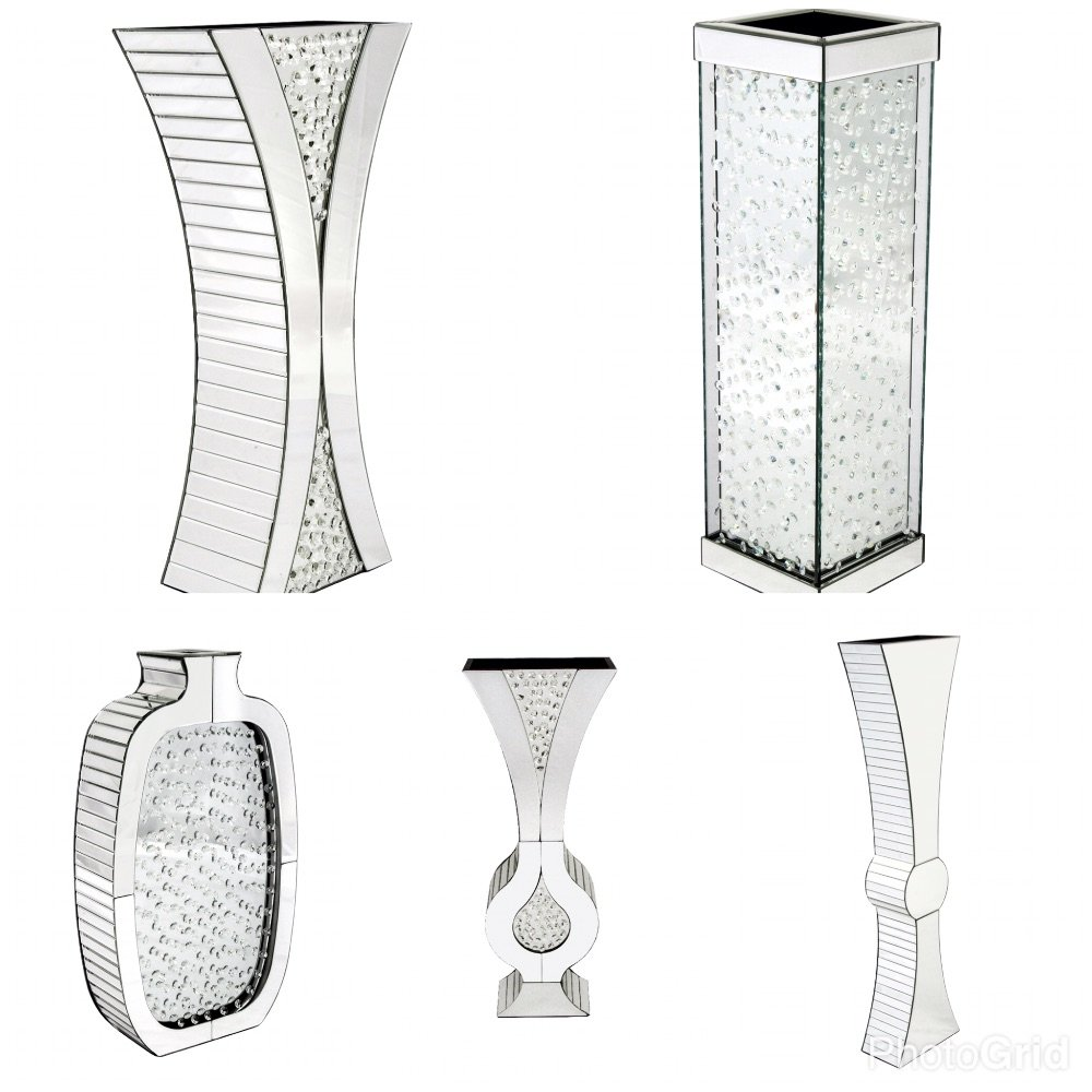 Mirrored Vases