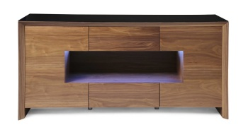 Soho Walnut Led Sideboard