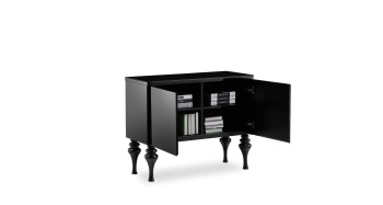 Laurent Black Sideboard