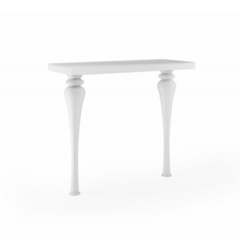 Laurent Console Table in Gloss White