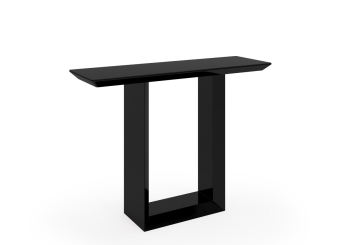 Soho Console Table in Gloss Black