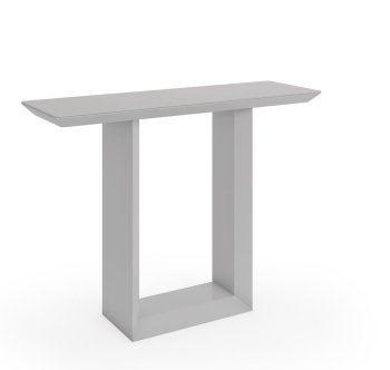 Soho Console Table in Gloss Grey