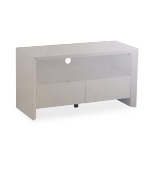 Soho High Gloss Tv Entertainment unit in Gloss Grey small