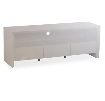 Soho High Gloss Tv Entertainment unit in Gloss Grey large
