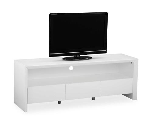 Soho High Gloss Tv Entertainment unit in Gloss White large