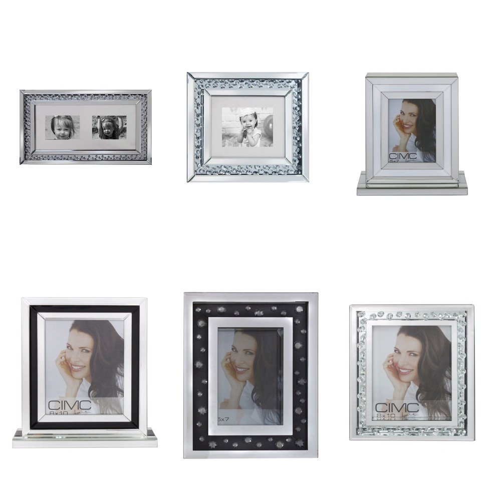 Mirrored Photo Frames