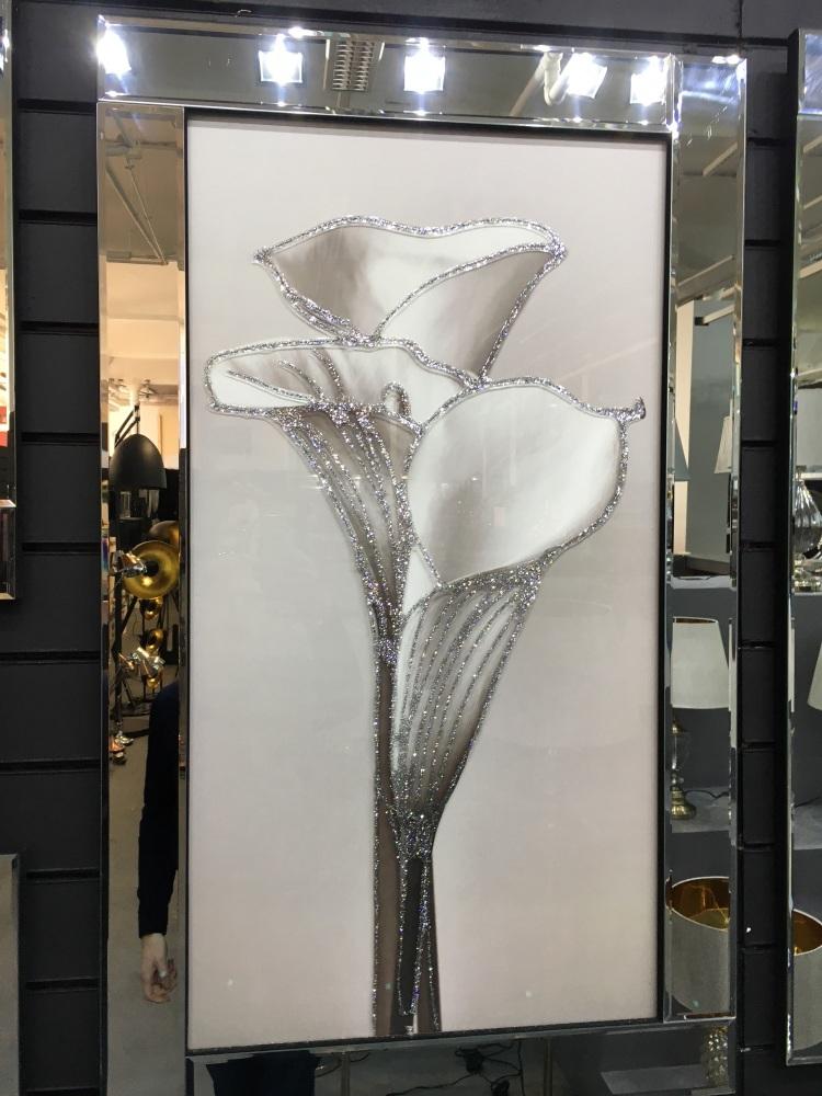 Mirror framed art