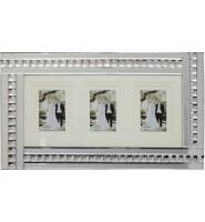 Crystal Border Mirrored Photo Frame 60cm x 35cm