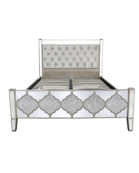 Sharma King Size Bed Frame 135cm x 158cm x 215cm