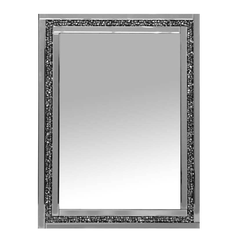 Diamond Crush Sparkle Mirror new value range 80cm x 60cm