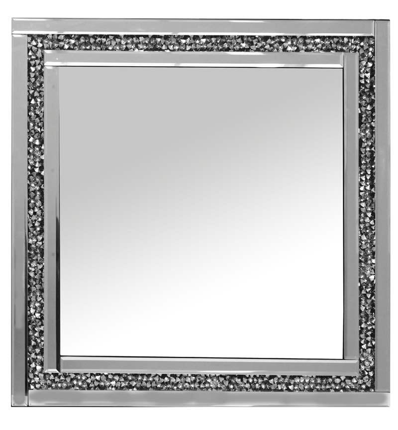 Diamond Crush Sparkle Mirror new value range 60cm x 60cm