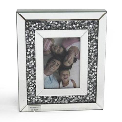 Diamond Crush Sparkle Mirror Photo frame