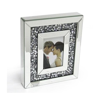 Diamond Crush Sparkle Mirror Photo frame