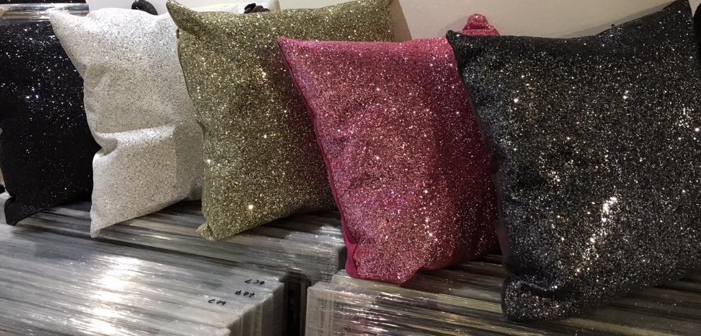 Glitter Cushions