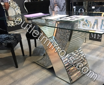 "* Diamond Crush Sparkle Dining Table ""Nesta""  pre order now"