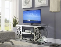 Crystal Mirrored TV Entertainment Unit