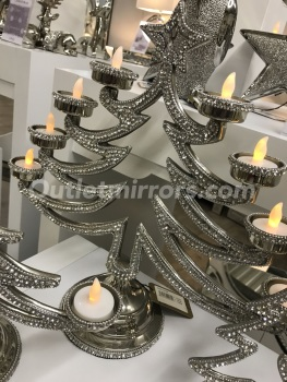 Xmas crystal jewel Tea Light Holder (8)