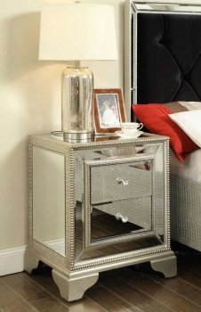 Sofia 2 Draw Mirrored Chest of Drawers
