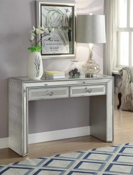 Sofia Mirrored 2 Draw Console Table