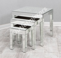 Mirrored Nest of Tables