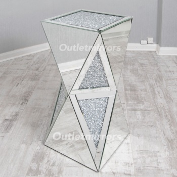 * Diamond Crush Sparkle  Double Twist Lamp Table large  instock