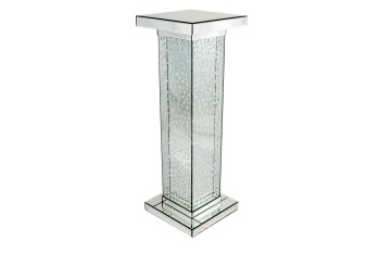 Floating Crystals Mirrored Lamp Table 115cm x 40cm