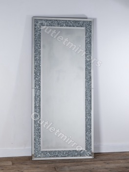 *special offer* New Diamond Crush Sparkle Wall Mirror 180cm x 80cm in stock