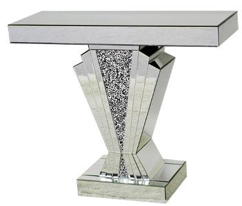 *Diamond Crush Sparkle Crystal Art Deco Console Table