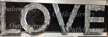 "* New Diamond Crush Sparkle Letters ""Love"" *sold out* pre order now"