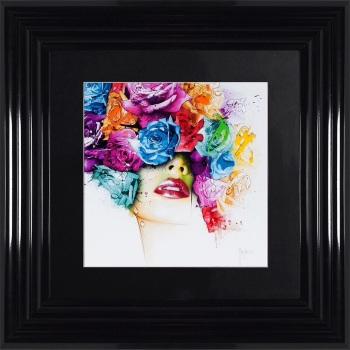 "Patrice Murciano Framed ""Punk"" print small 55cm x 55cm"
