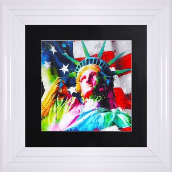 "Patrice Murciano Framed ""Liberty"" print small 55cm x 55cm"