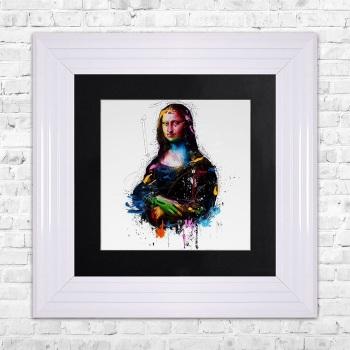 "Patrice Murciano Framed ""Mona Lisa"" print small 55cm x 55cm"