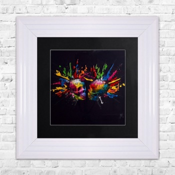 "Patrice Murciano Framed ""Lovers"" print small 55cm x 55cm"