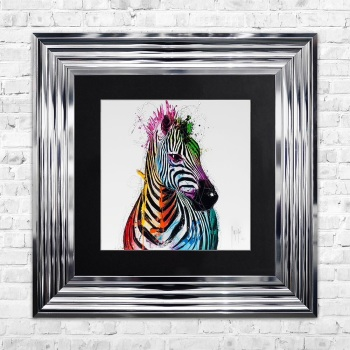 "Patrice Murciano Framed ""Zebra"" print small 55cm x 55cm"