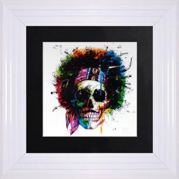 "Patrice Murciano Framed ""Woodstock"" print small 55cm x 55cm"