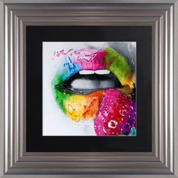 "Patrice Murciano Framed ""Strawberry"" print small 55cm x 55cm"