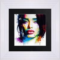 "Patrice Murciano Framed ""Aurelie"" print small 55cm x 55cm"