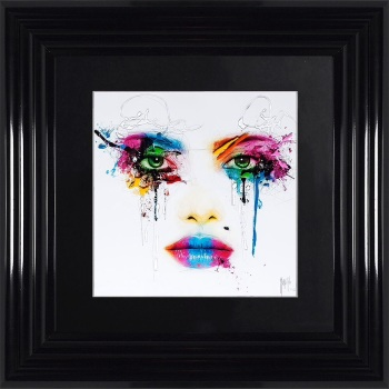 "Patrice Murciano Framed ""Face"" print small 55cm x 55cm"