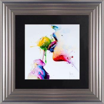 "Patrice Murciano Framed ""Chupa Lolly"" print small 55cm x 55cm"