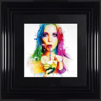 "Patrice Murciano Framed ""Salsa"" print small 55cm x 55cm"