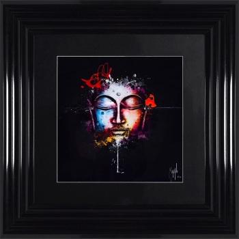 "Patrice Murciano Framed ""Zen Pop"" print small 55cm x 55cm"