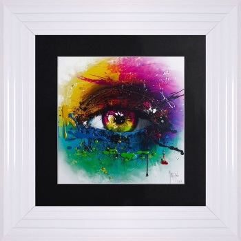 "Patrice Murciano Framed ""Requiem for a Dream "" print small 55cm x 55cm"