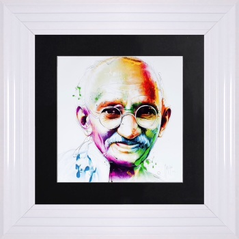 "Patrice Murciano Framed ""Ghandi"" print small 55cm x 55cm"