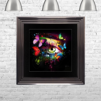 "Patrice Murciano Framed ""Butterfly Eye"" print medium 75cm x 75cm"